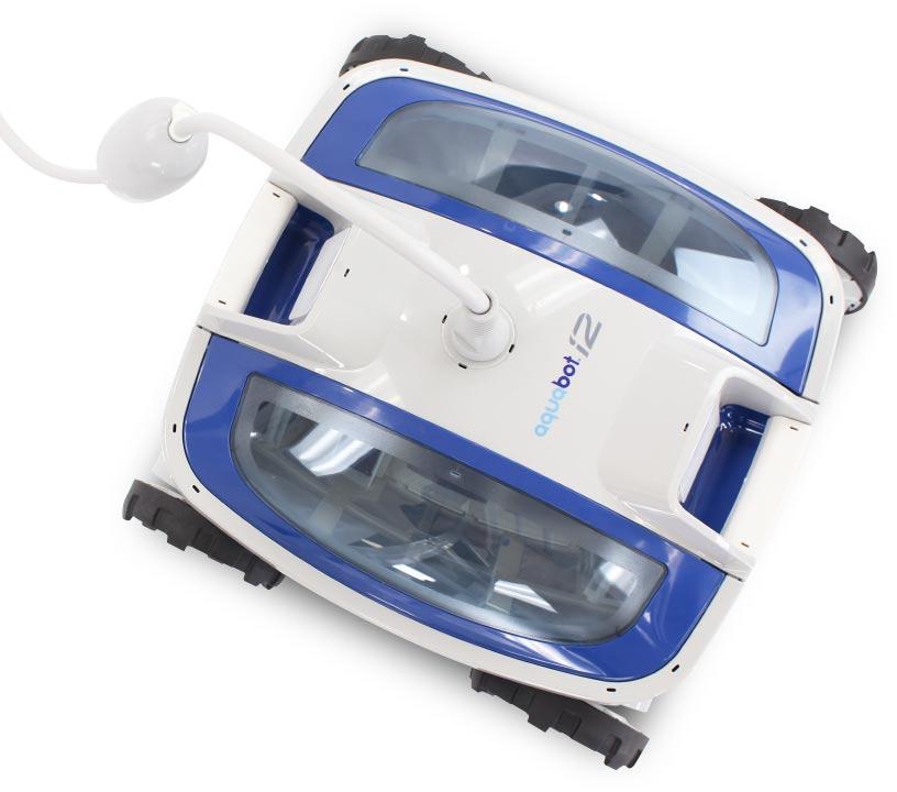 Robot limpia fondos de albercas aquabot i2 13 for Robot limpia piscina